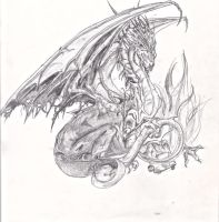 The dragon. by ForeverEternity61493