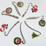 Beaded Christmas bookmarks by Sol89