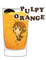 CR collab- pulpy orange by nasikepal