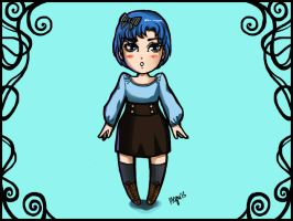 Chibi Sailor Mercury by FunkyShaeri