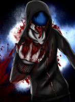 Eyeless Jack Craving by ZombieRay10