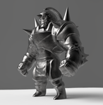 WIP - Alphonse Figurine by chemb0t