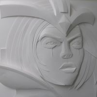 LeBlanc Paper Sculpture | League of Legends by ThePaperArt