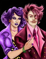 Pretty Pansy and Chauncy by FairyGodfather