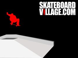 Skateboardvillage wallpaper by ninio1985