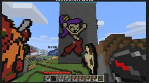 Shantae in Minecraft by Lil-Bender