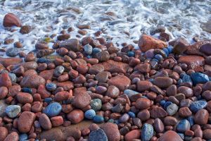 Colorful beach by eswendel