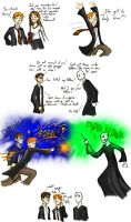 Ron Saves the Day by theTieDyeCloak