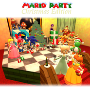 Christmas Party with Mario by ZeFrenchM