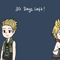 Day 2: Roxas, Stahp by StarletHeaven