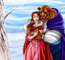 Couples: Belle and Beast by MistyTang