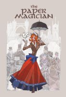 the paper magician chinese version book cover by breath-art
