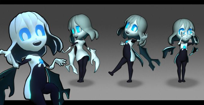 Hollow Race Ghost Girl by Remely