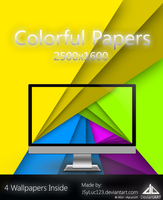 Colorful Papers by JSyLuc123