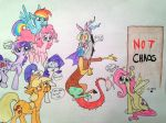 TOTALLY NOT CHAOS - MLP by ameliacostanza