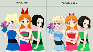 PPG: The Change through Time by Alice-The-Hatter
