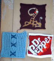 More afghan squares by eccentricone