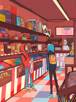 Candy Shop by robomonster
