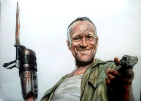 How's about a hug for your ol' pal Merle. by Aiwe