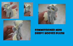 Mini Depry Hooves Plush by SecludedOtaku