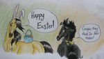 Happy Easter! by JourneyHorse