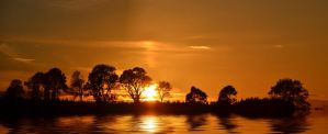 Northumbrian Sunset 3 by Rockin-billy