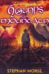 Fantasy ebook cover: Hounds of the Mountain by Dafeenah