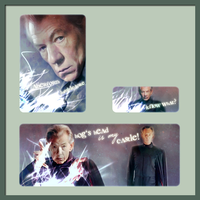 Ian McKellen Set 1 by samweissb
