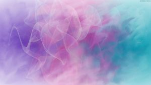 Cotton Candy Abstract by StarwaltDesign