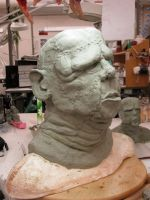 Frankenstein Mask - 2nd angle by chillier17