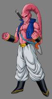 Super Buu - Trunks Absorbed by hsvhrt