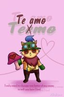 LoL-Teemo in love by Albaharu