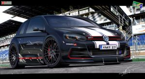 Golf GTR by kairusevon