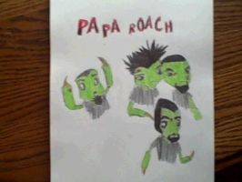Papa Roach Chibie by Synyster-wolf