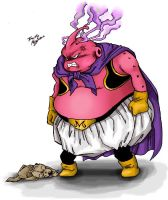 Fat Buu by TimothyJamesF