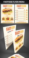 FastFood Flyer by graphicstock