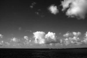 Ocean Clouds I by patrick-brian