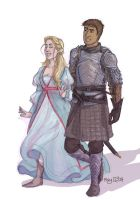 Celaena And Chaol by may12324