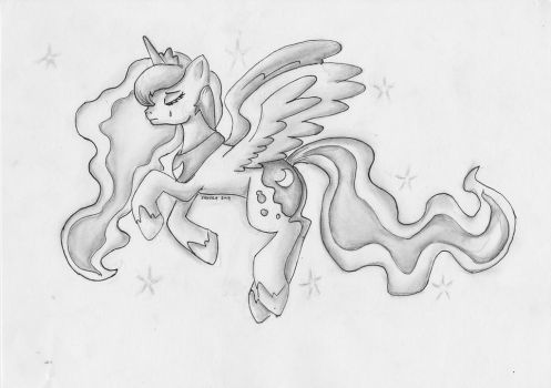Just Another Star In The Sky by SakuraDrawingPencil