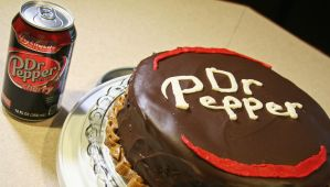 Dr. Pepper Cherry Cake by Deadpool7100