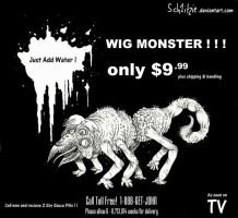 Wig Monster by Sch1itzie