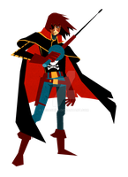 Captain Harlock by sssashimi