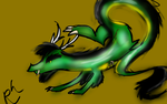 Francis the Asian Dragon by Ravenhoof