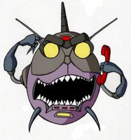 Sharkticon by BillForster