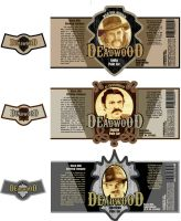 deadwood beer labels by Riversology