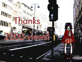 Thanks 2000 with Noodle by kazenokibou