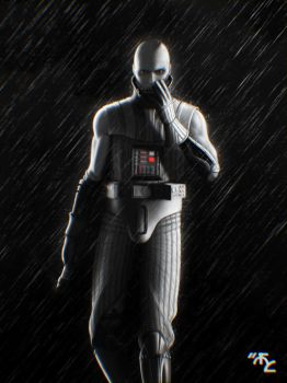 Young Damaged Vader Noir by Master-Cyrus
