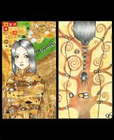 Tribute To Gustav Klimt by Beurkeek