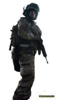 Battlefield 3 Soldier Render by MestroJuve10