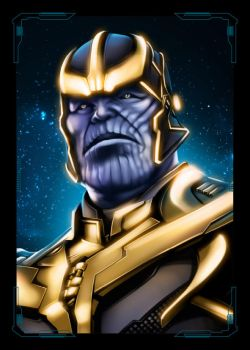 Avengers Thanos by NZO68